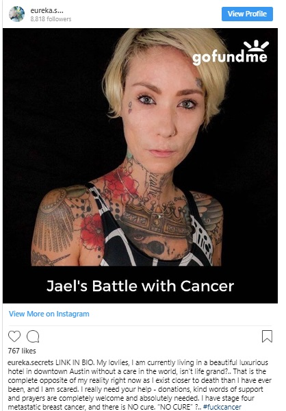 America's Next Top Model star Jael Strauss dies from cancer aged 34 | tnbclive.com