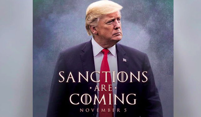 'Games of Thrones' Incited Poster of Trump , Makes Iconic Phrase in Cabinet Meeting