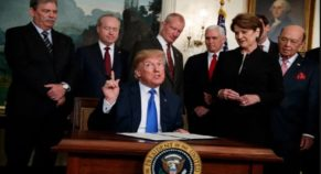 """After Polling By Senates, For Ending Border Emergency Trump Claims, """"VETO"""""""