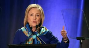 In 2020, Hillary Clinton Precludes Running For White House