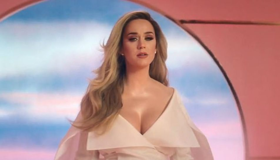 Katy Perry Reveals Her Pregnancy in a New Music Video, Never Worn White