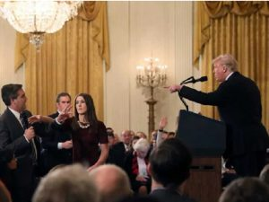 White House Restores The Press Pass of the CNN Reporters Along With Warning